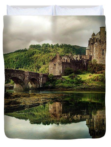 Landscape With An Old Castle Duvet Cover