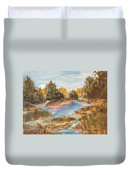 Landscape_1 Duvet Cover
