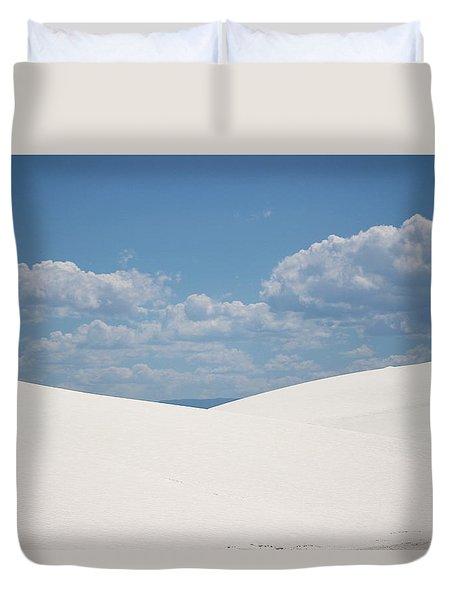 Landscapes Of White Sands 11 Duvet Cover