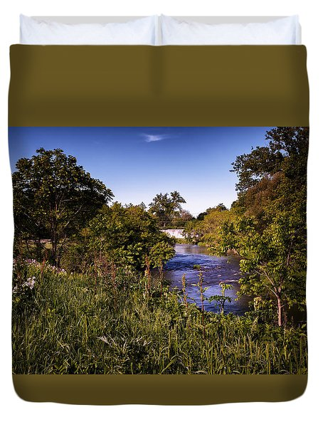Lanesboro Dam 01 Duvet Cover