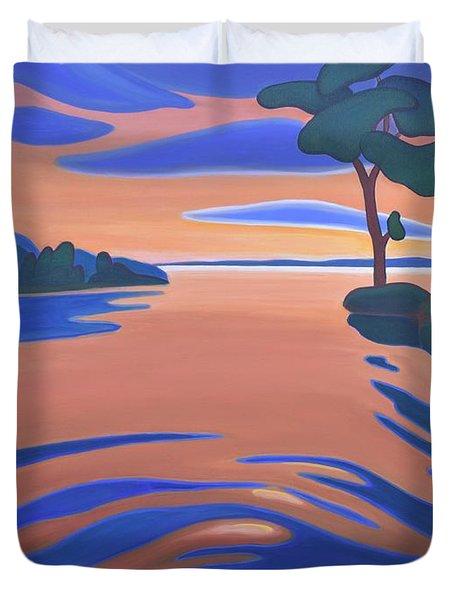 Languid Evening Duvet Cover