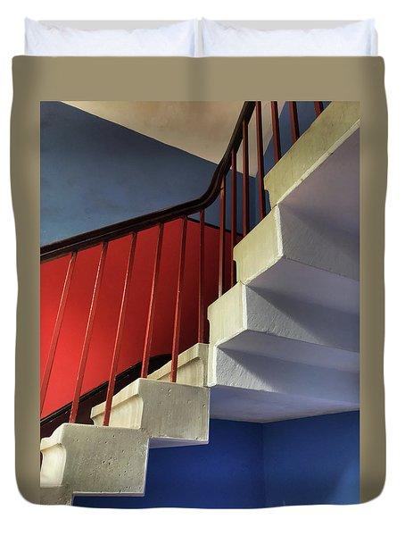 Lanhydrock Stairs Duvet Cover