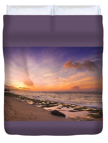 Laniakea Sunset Duvet Cover