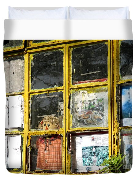 Duvet Cover featuring the photograph Lantau Island 47 by Randall Weidner