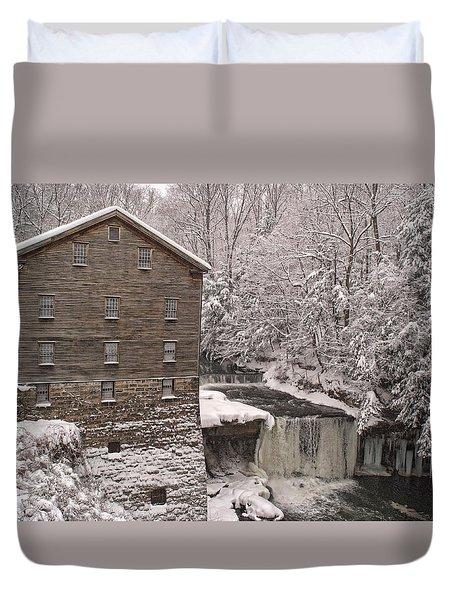 Lanterman's Mill Duvet Cover