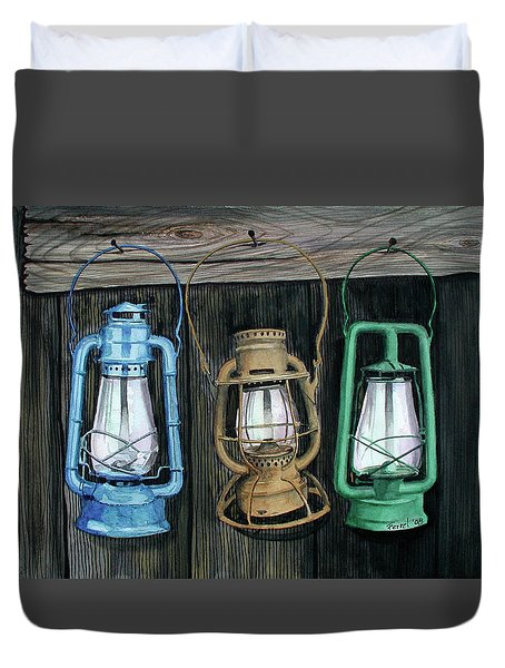 Lanterns Duvet Cover