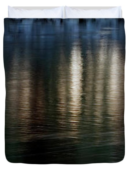 Duvet Cover featuring the photograph Lanterns by Kenneth Campbell