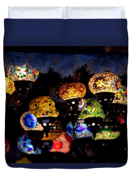 Lanterns - Night Light Duvet Cover