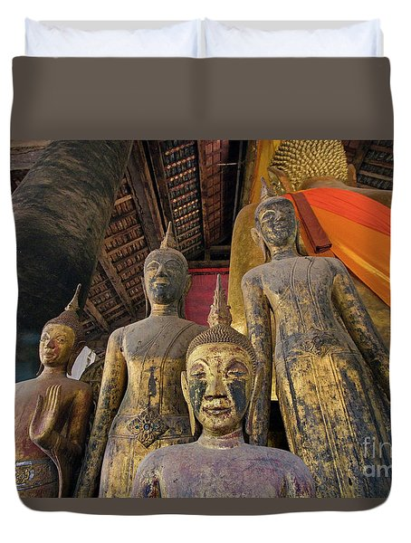 Laos_d186 Duvet Cover by Craig Lovell