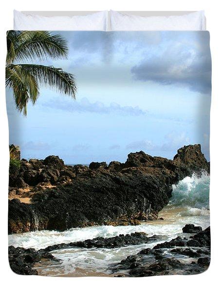 Lapiz Lazuli Stone Aloha Paako Aviaka Duvet Cover