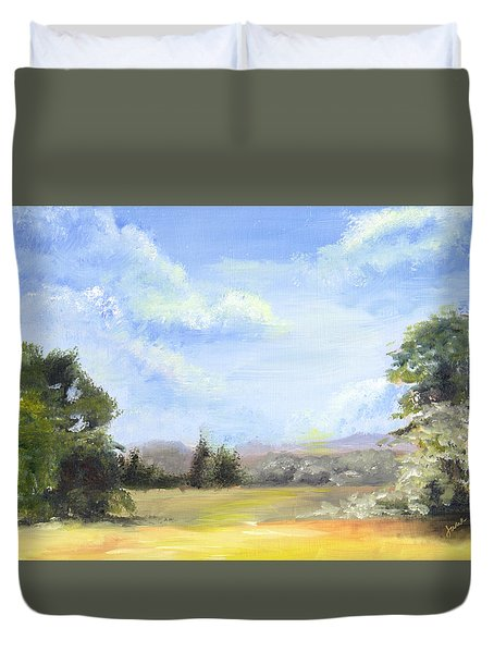 Lapoint Utah Duvet Cover by Jane Autry