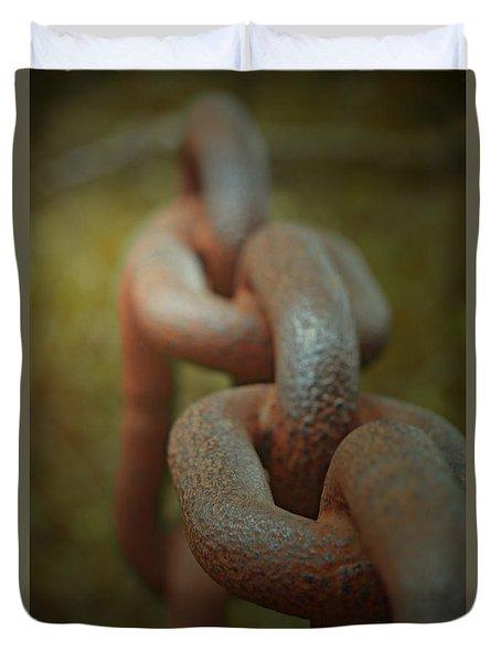 Large Chain Duvet Cover