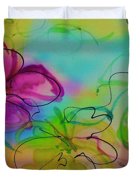 Large Flower 2 Duvet Cover