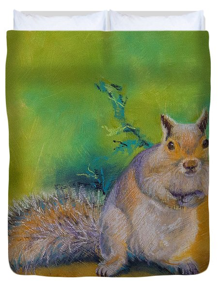Larry Duvet Cover by Tracy L Teeter