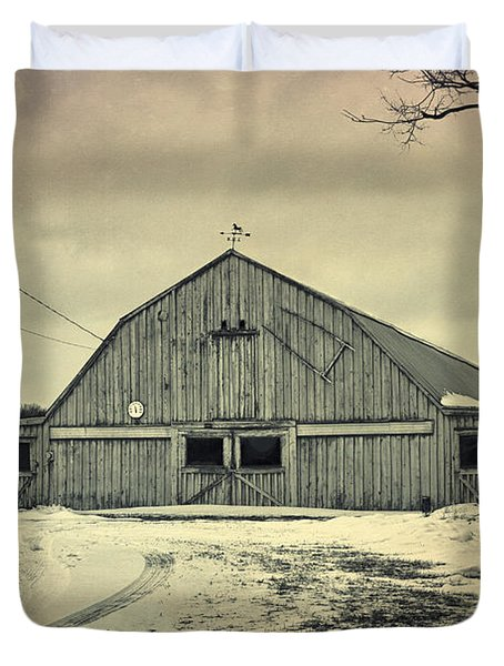 Larsen Road Barn Duvet Cover