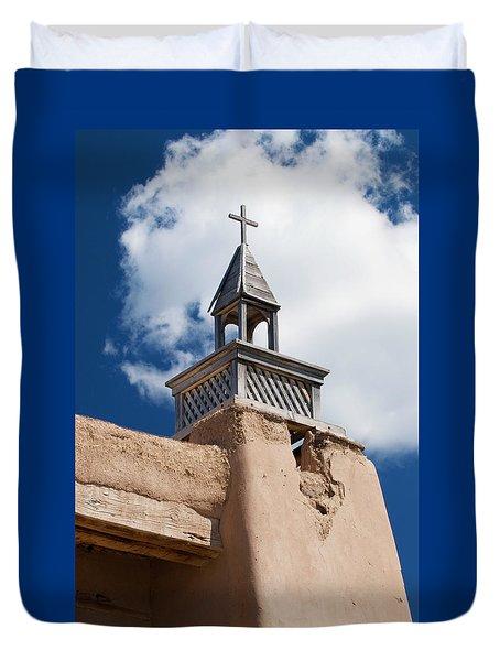 Las Trampas Church Duvet Cover