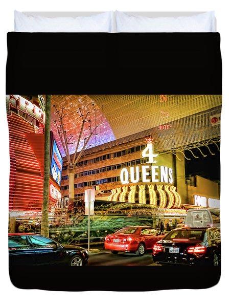 Las Vegas Duvet Cover