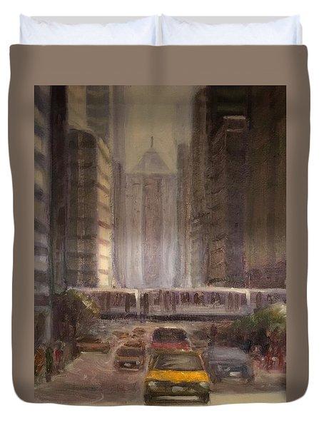 Lasalle Street Duvet Cover