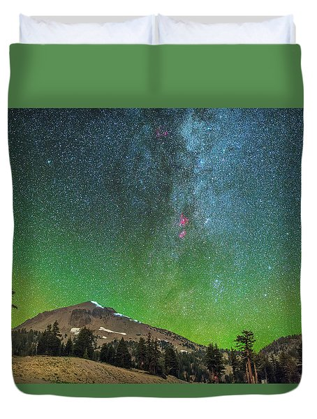 Lassen Nights Duvet Cover