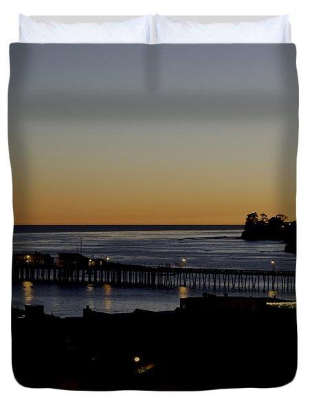 Last 2015 Sunset Duvet Cover