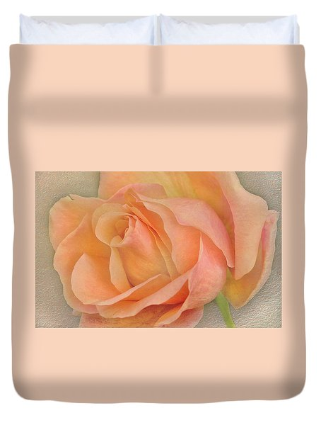 Last Autumn Rose Duvet Cover