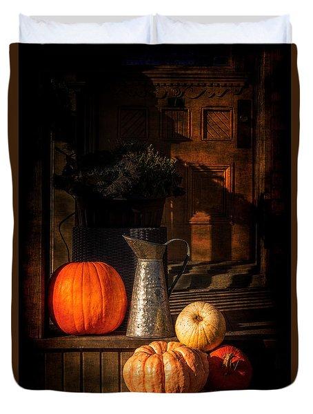 Last Autumn Sunlight Duvet Cover
