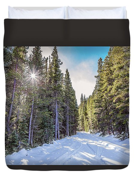 Duvet Cover featuring the photograph Last Chance by James BO Insogna