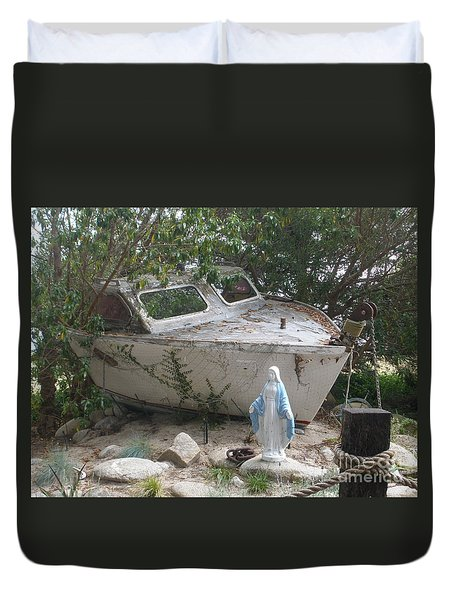 Last Cruise Duvet Cover