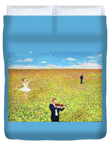 Last Dance Duvet Cover