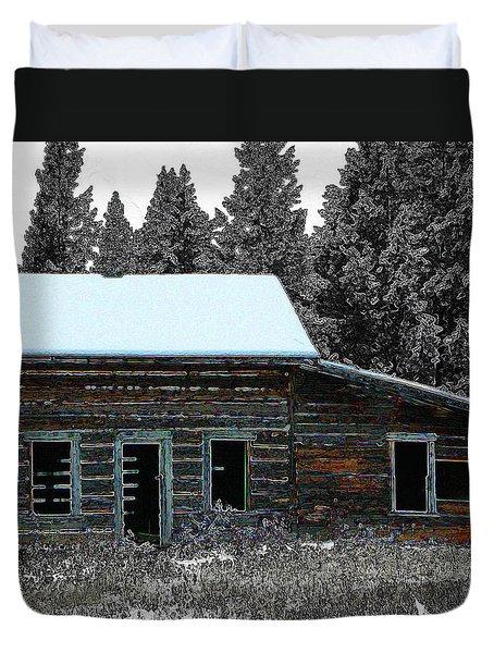 Last Days 1 Duvet Cover by Stuart Turnbull