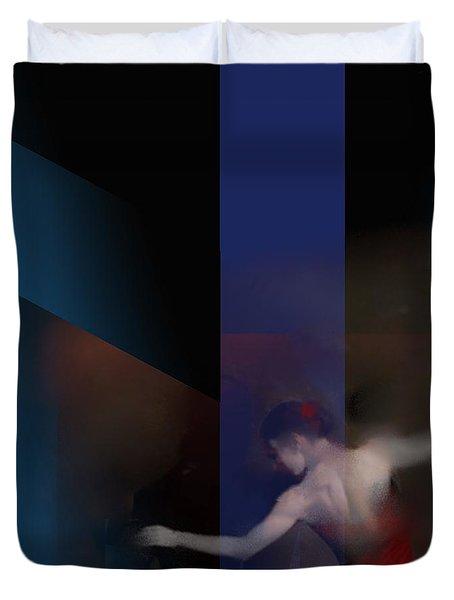 Last Flamenco Duvet Cover
