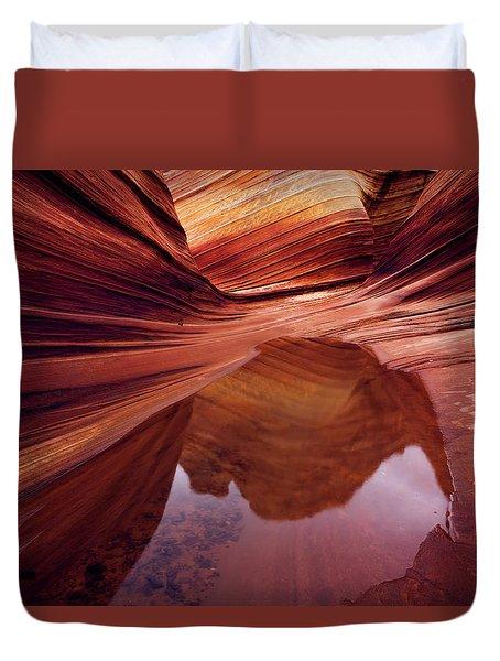 Last Glance Duvet Cover