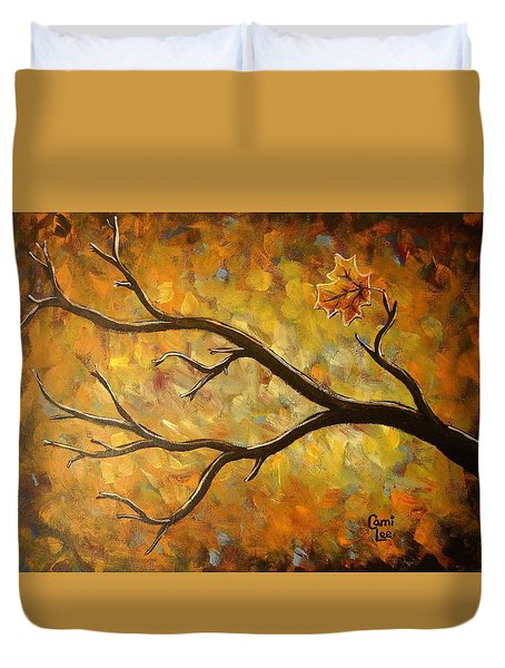 Last Leaf Duvet Cover