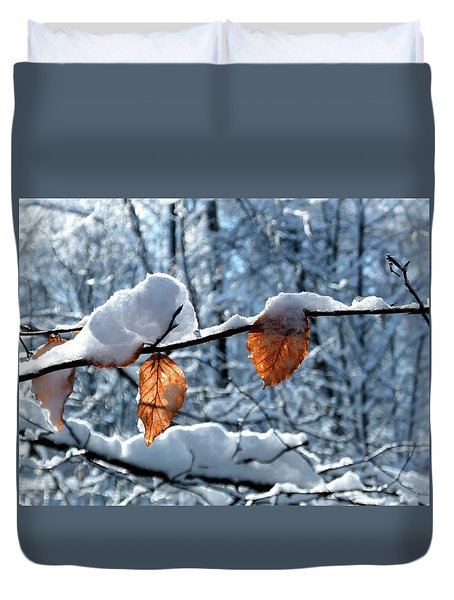 Last Leaves Duvet Cover