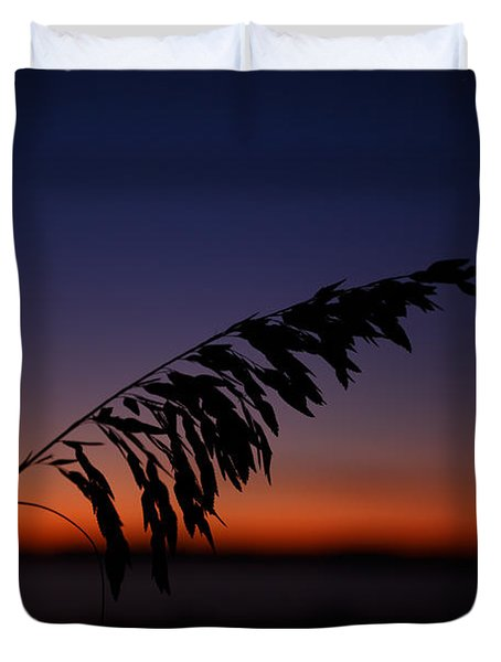 last light at Hilton Head Island Duvet Cover