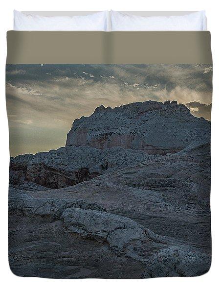 Last Light At White Pocket Duvet Cover