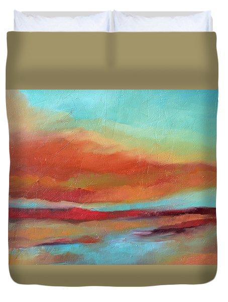 Last Light Duvet Cover by Filomena Booth
