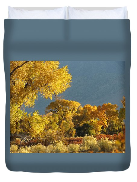 Last Light In Bishop 2 Duvet Cover