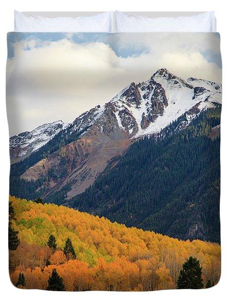 Last Light Of Autumn Duvet Cover