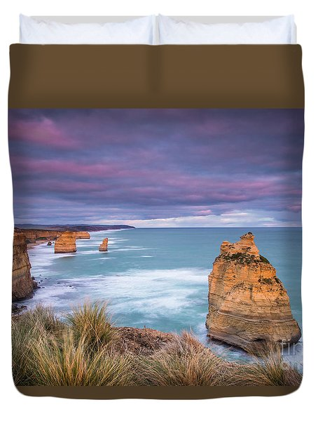 Last Light Of Day Duvet Cover