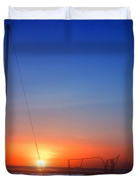 Last Light Duvet Cover by Stephen Anderson