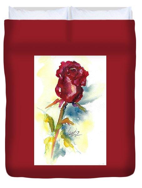 Last Rose Of Summer Duvet Cover