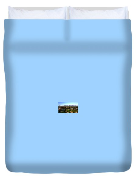 Last Shot Duvet Cover