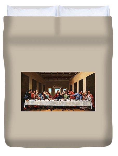 Last Supper Duvet Cover by Michael Nowak