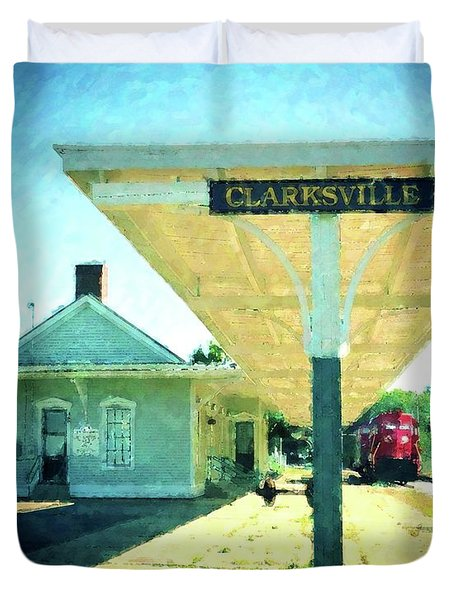 Last Train To Clarksville Duvet Cover