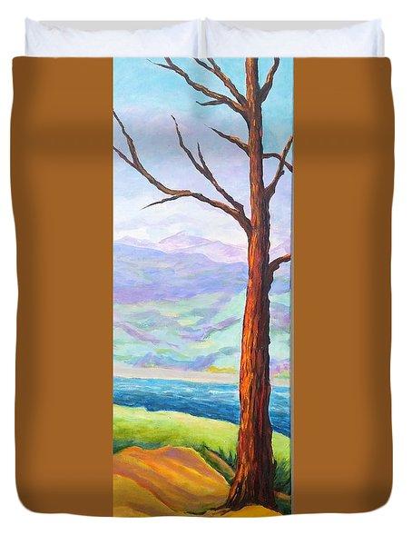 Last Tree Standing Duvet Cover