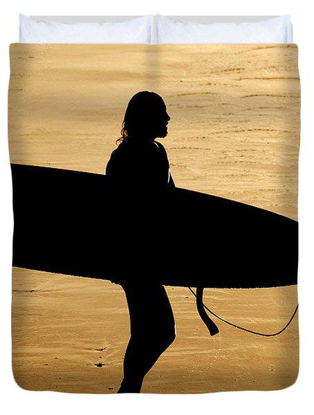 Last Wave Duvet Cover