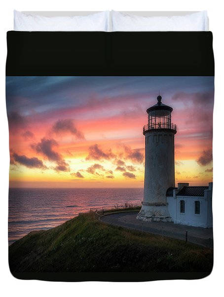 Lasting Light Duvet Cover by Ryan Manuel
