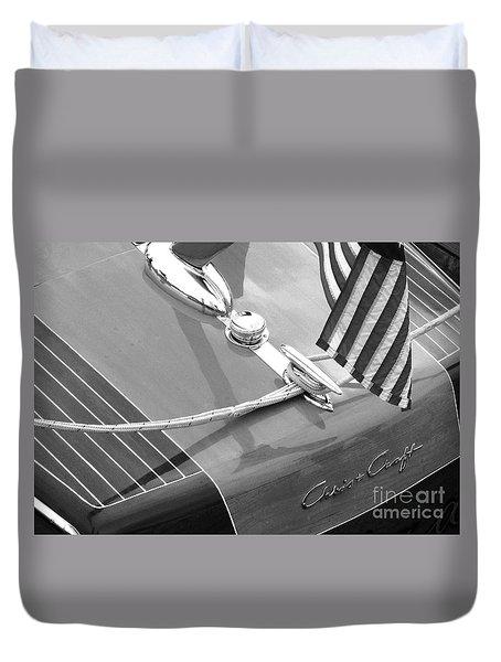 Late 1940's Chris Craft Custom Duvet Cover