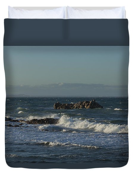 Late Afternoon Waves Duvet Cover
